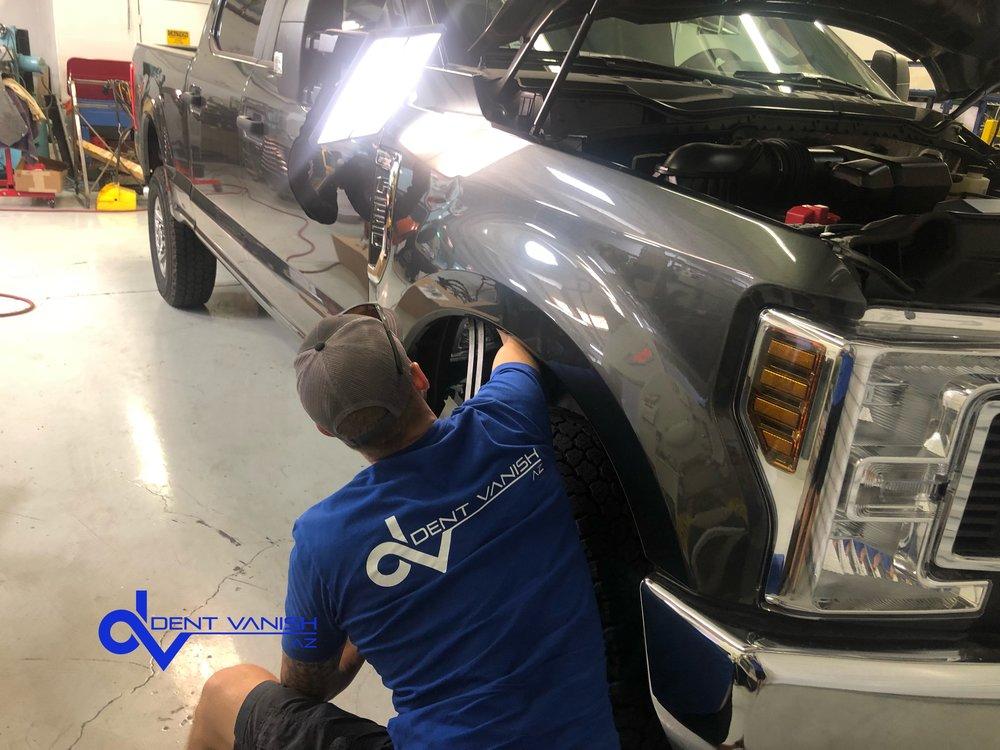 Aluminum fender repair