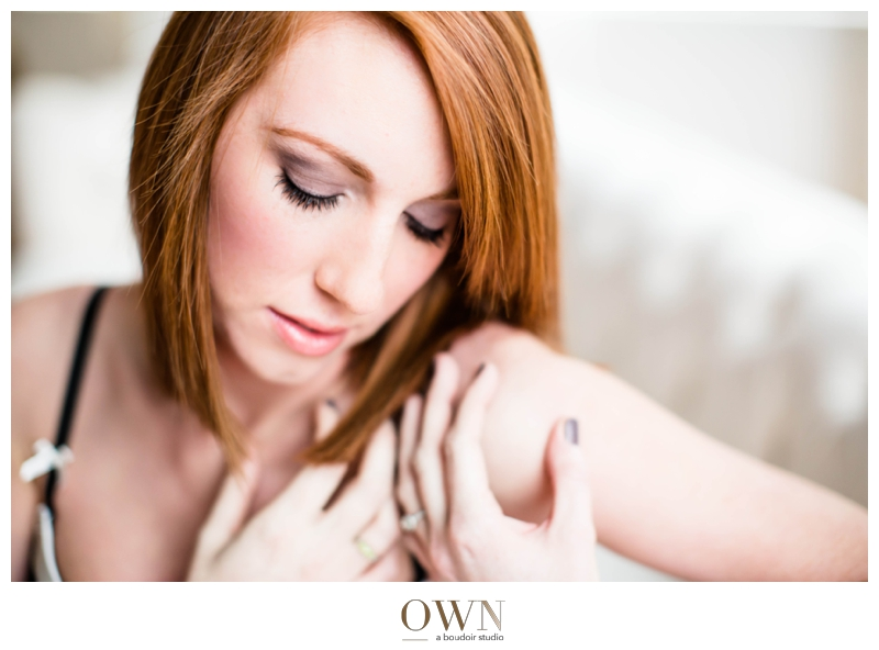 Love that firey red hair! Makeup by Raney O'Keefe of Raney O'Keefe Makeup, lash extensions, and hair