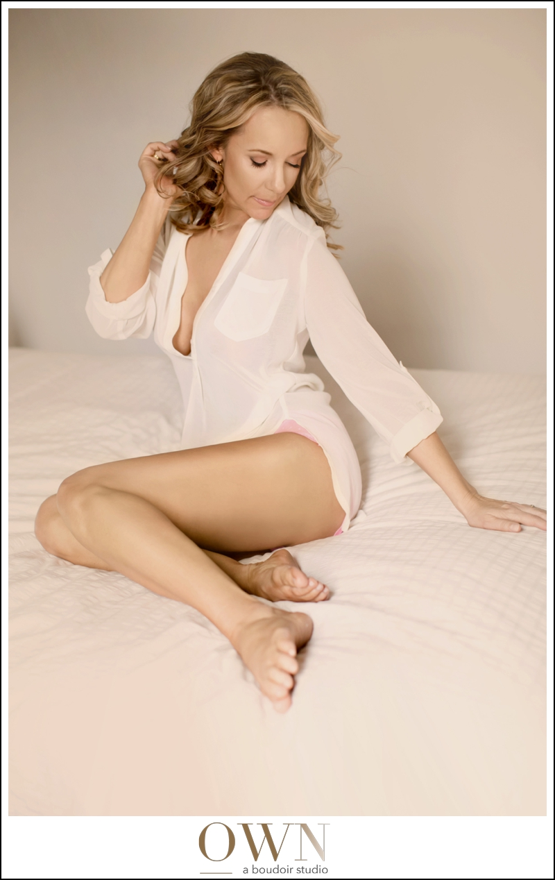 I believe that the shirt in this boudoir session is from  Fabrik . They have a few boutiques throughout the Atlanta area!