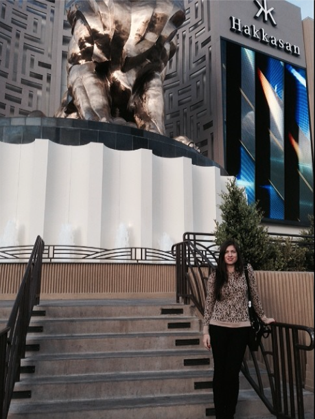 At the MGM Grand Hotel & Casino