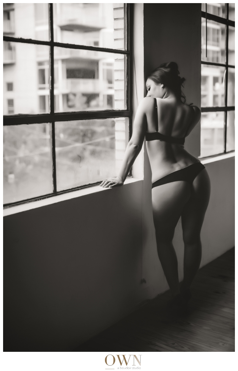 beautiful woman brunette boudoir atlanta own boudoir