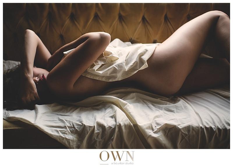 boudoir in sheets