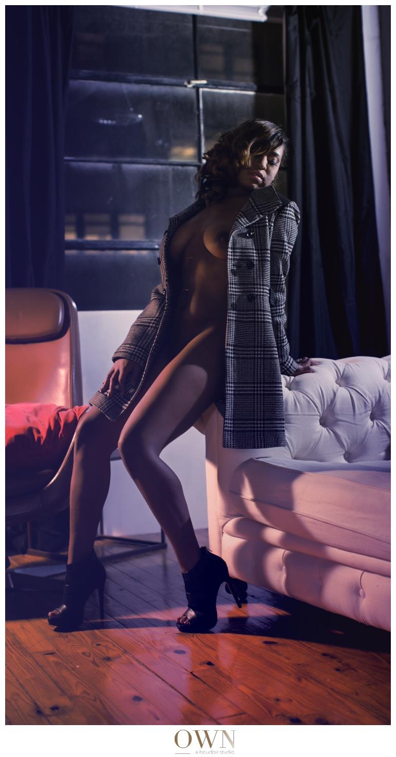 own boudoir at night