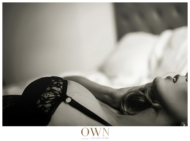 black and white boudoir photography atlanta