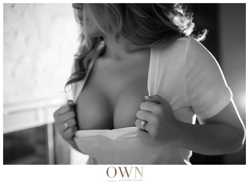 own boudoir atlanta black and white