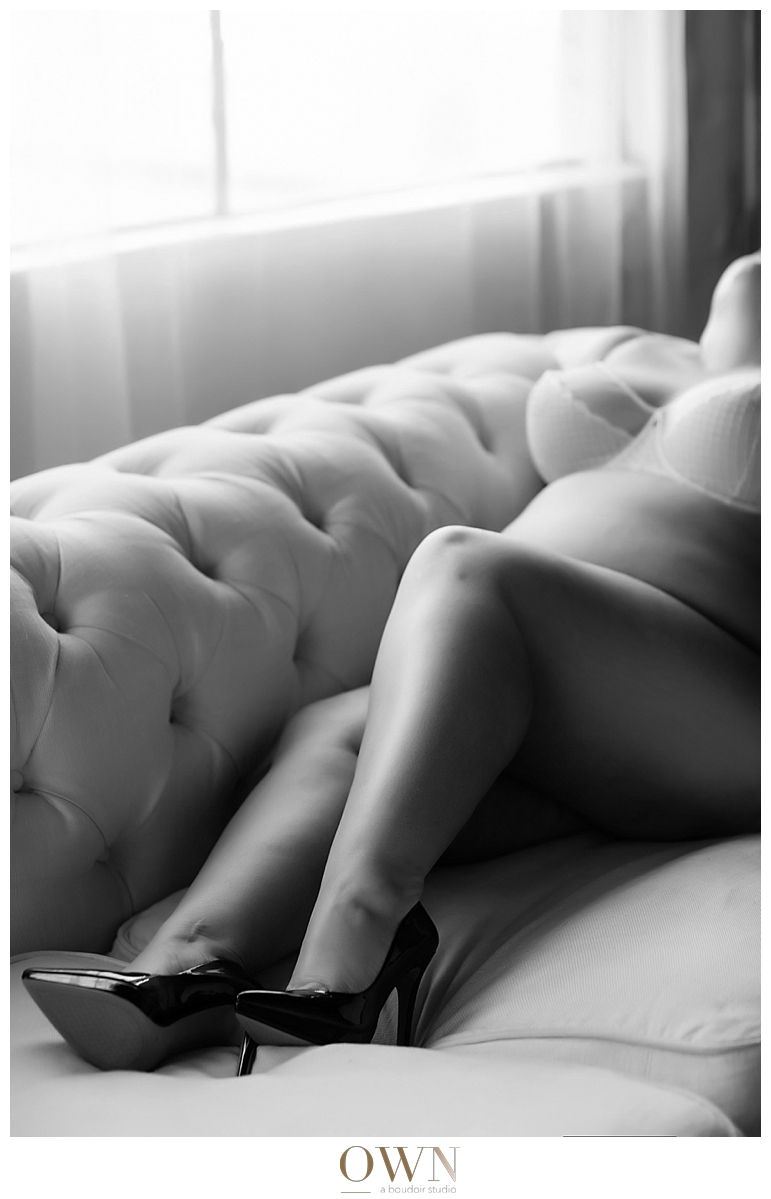 plus size boudoir photographer atlanta photography new york window thong two