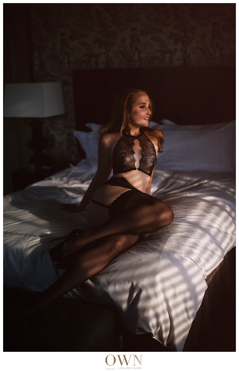 boudoir shoot in washington, dc