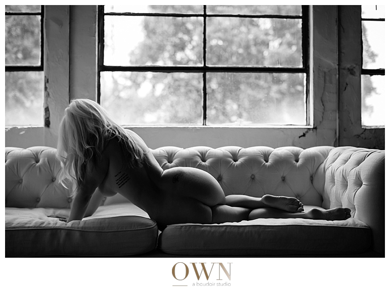 own boudoir photographer in atlanta