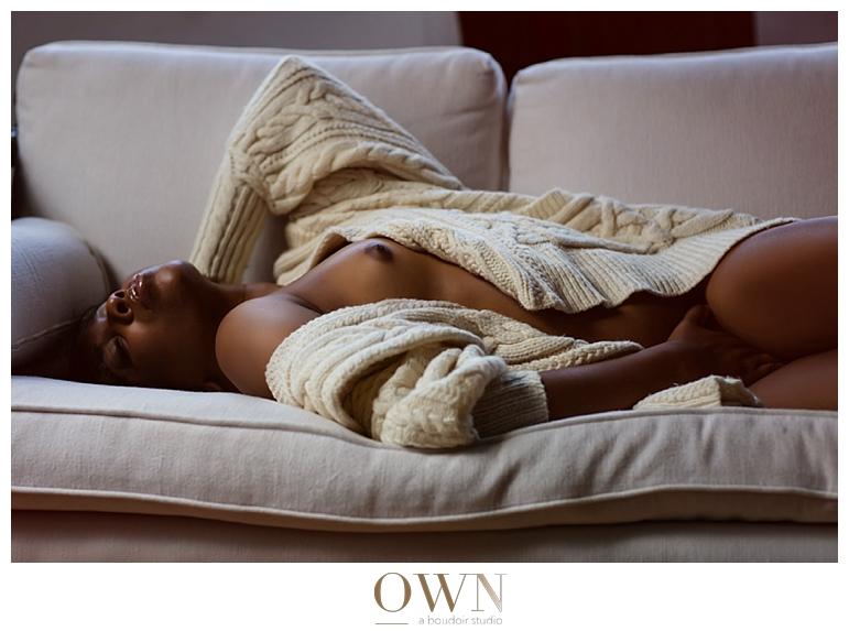 kinky photography boudoir ralph lauren sweater black girls sensual photography boudoir photographer