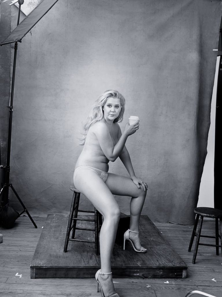 amy schemer calendar nude black and white leibovitz