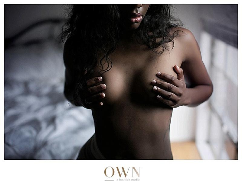 black woman boudoir image atlanta own boudoir