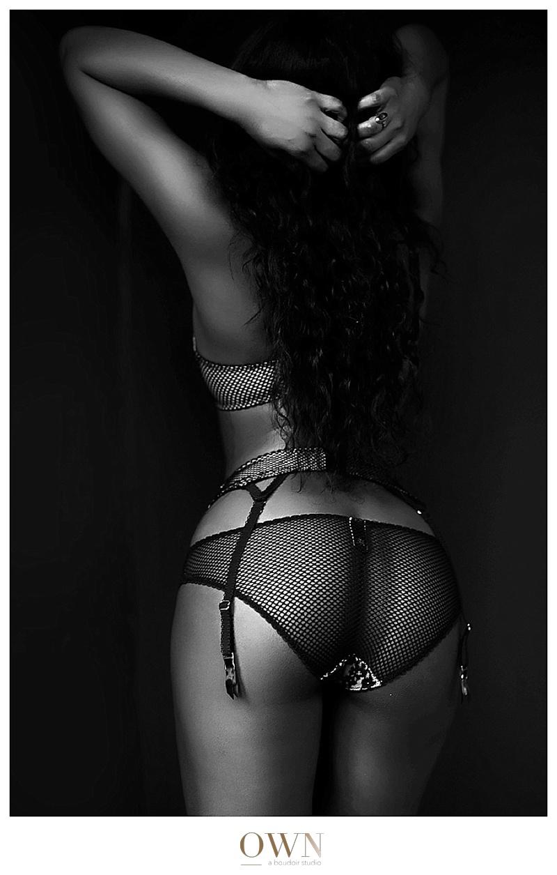 ownboudoir atlanta boudoir photography black and white