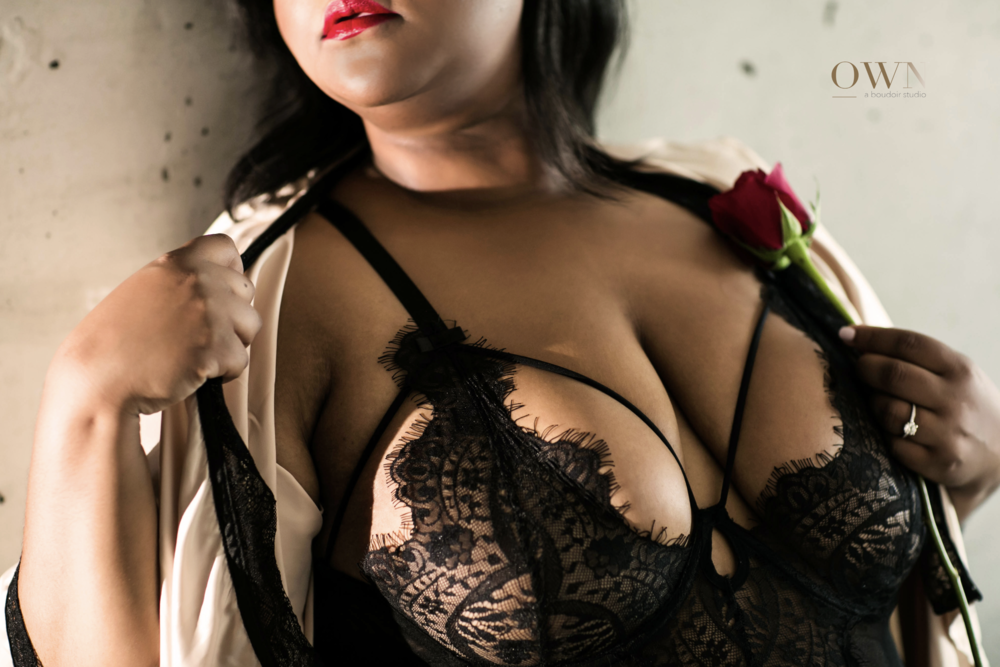 boudoir photography atlanta, plus size boudoir, african american boudoir, lingerie for boudoir session,