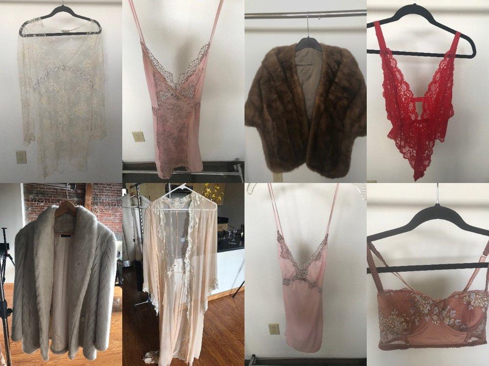 boudoir closet items