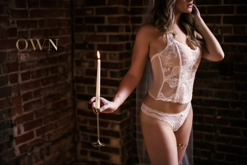 atlanta boudoir photography, atlanta boudoir photographer, harry potter boudoir, candle boudoir, atlanta boudoir pose, boudoir props, boudoir pose ideas, bridal boudoir atlanta