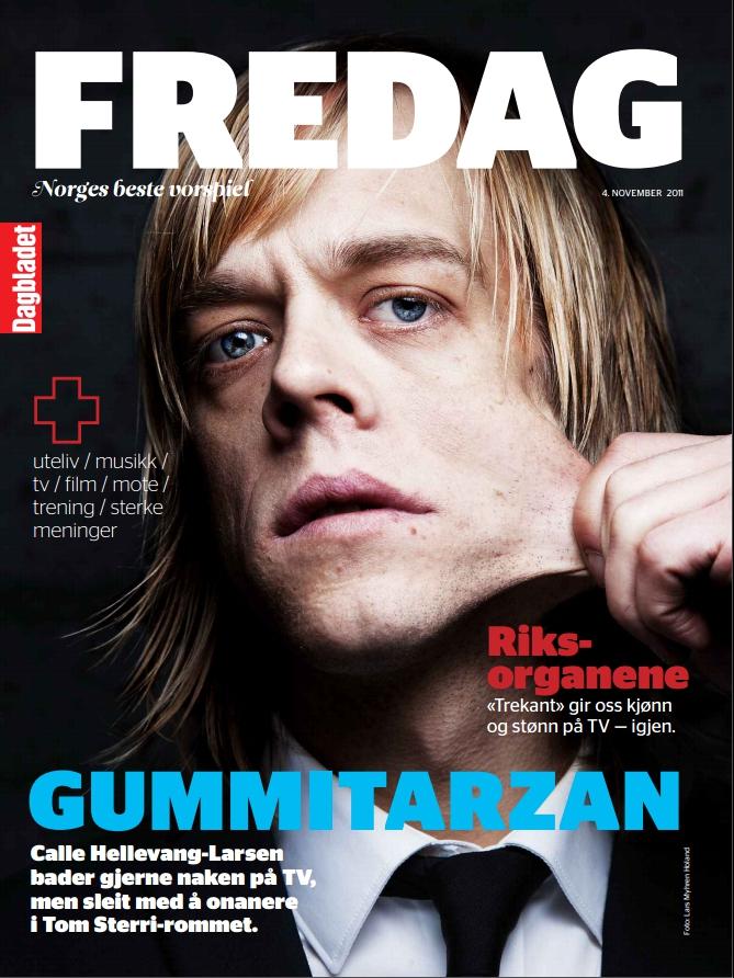 Calle Hellevang-Larsen Calle Hellevang kjente på tvilen rundt det å bo utenfor bykjernen. (Dagbladet FREDAG 4.11 2011)
