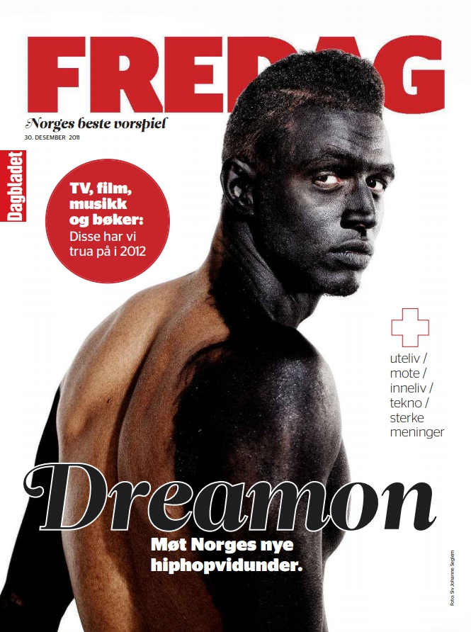 """Dreamon Få lager bedre pop-rap i Norge enn Dreamon. Derfor var han portrettet i det aller siste """"Trua på""""-nummeret til FREDAG noensinne. (Dagbladet FREDAG)"""