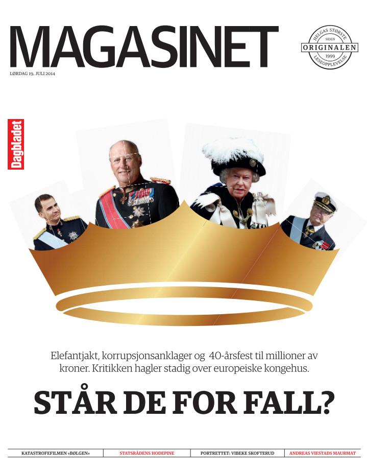 Hvor lenge lever kongen? (2014) - Hva skal til for at de europeiske kongehusene faller? Spoiler: Mye.