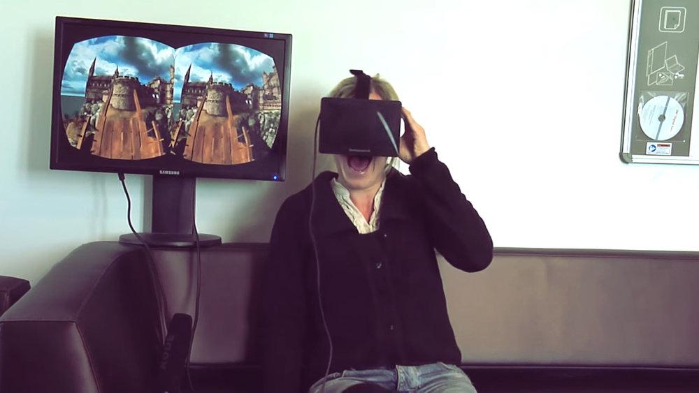 «Å herregud!» (2013) - Jarle Hrafn Grindhaug i PressFire hadde en idé om å la et knippe Dagbladet-folk teste VR-brillene Oculus Rift. Resultatet gikk sin seiersgang på nett i inn- og utland.