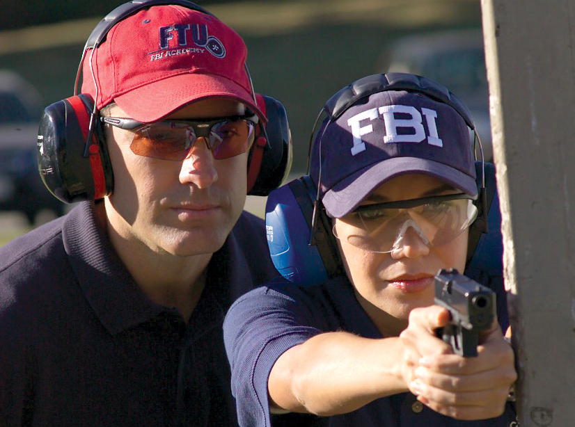 FBI New Agent Training (courtesy of FBI)