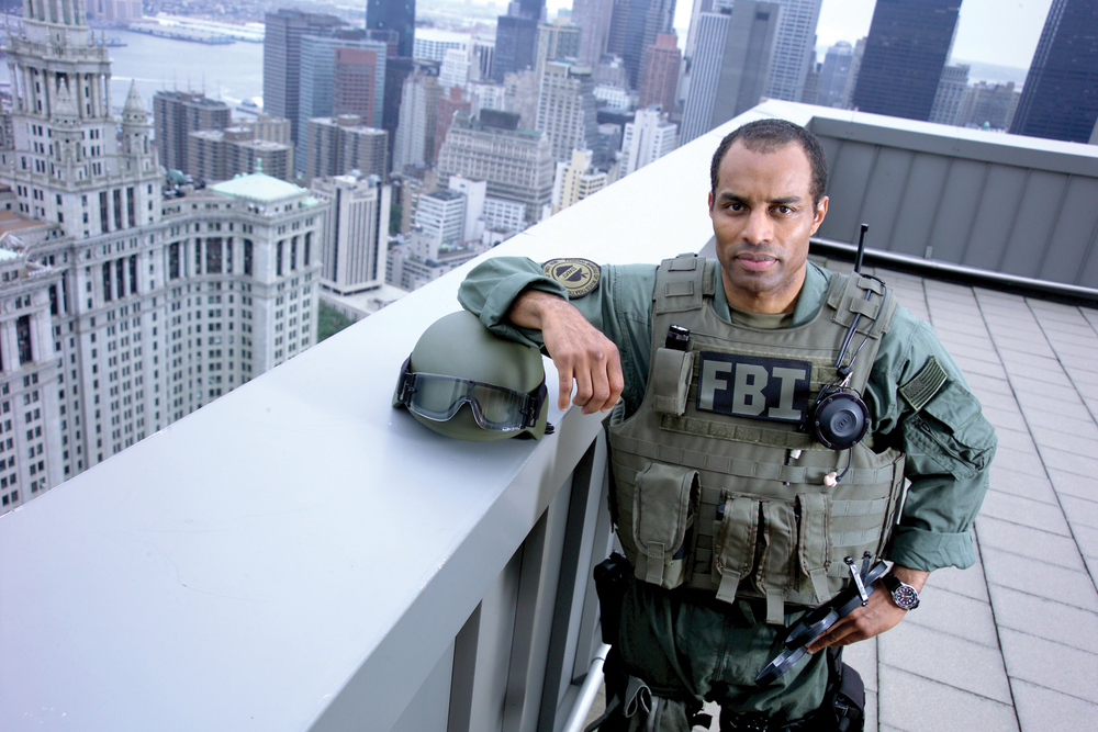 New York FBI SWAT Team member (courtesy of FBI)