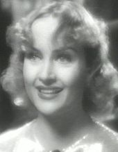 Carole Lombard in the 1936 screwball comedy My Man Godfrey (photo courtesy Wikipedia)
