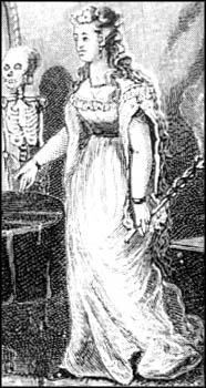 Possible drawing of the first real-life female PI,Kate Warne, whose history is similar to the fictional Miss Loveday Brooke