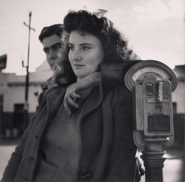 """Lovers - Richmond CA 1942"" photo by Dorothea Lange, Digital image courtesy of the Getty's Open Content Program"