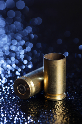 Bullet casings are one signature of a crime