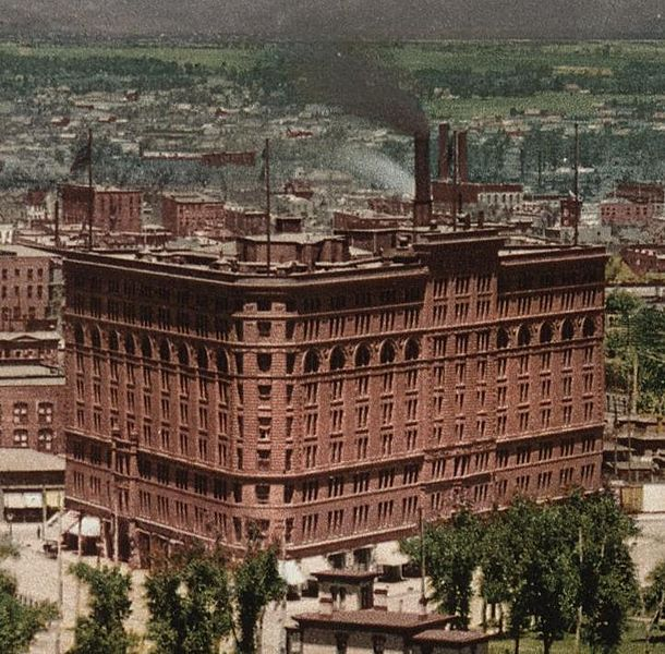 Brown Palace Hotel, Denver Colorado, 1898