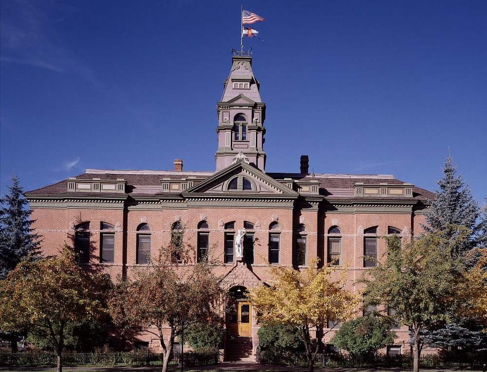 Pitkin County Courthouse, Aspen, CO, photo by Carol Highsmith (image is in the public domain)