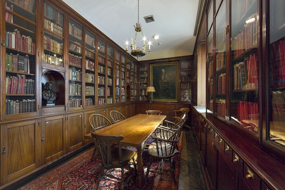 Interior of the William H. Welch Medical Library Baltimore MD by Carol Highsmith.jpg