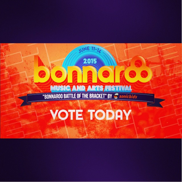 Hi all! I've been selected to compete with 64 other bands to play at #Bonnaroo! Can you vote for me?? Copy and paste link - I am Matchup 11. Thank you!! http://bit.ly/1MNSRIL