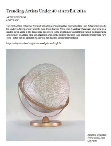 Artsy.net | Mayo de 2014