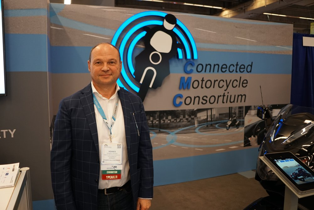 Hennes Fischer has been seconded by his employer, Yamaha Motor Europe, to the CMC; he takes a leading role in government relations and PR. We caught up with him on the show floor.