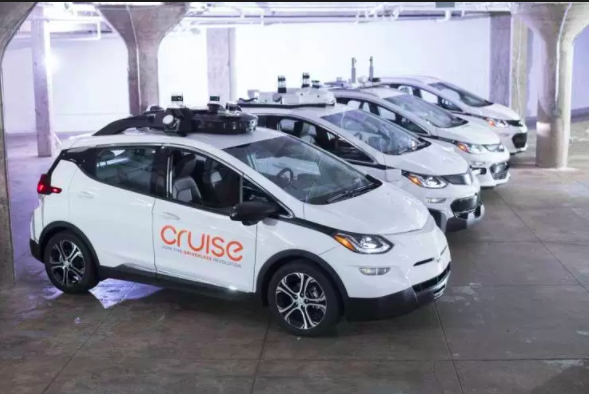 Last December, a Chevy Bolt test mule, like one of these, was involved in what I believe was the first collision between a fully autonomous vehicle and a motorcycle on public roads.
