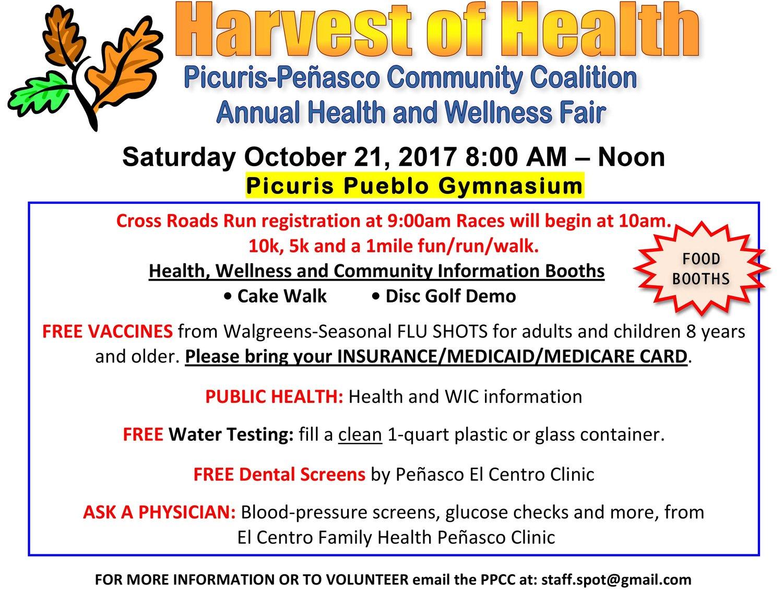Harvest of Health: Picuris-Pinasco Health & Wellness Fair