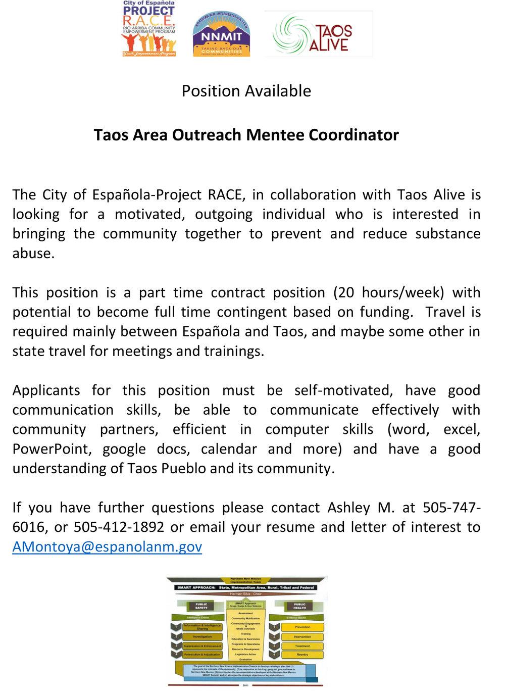 Taos Area Outreach Mentee Coordinator.jpg
