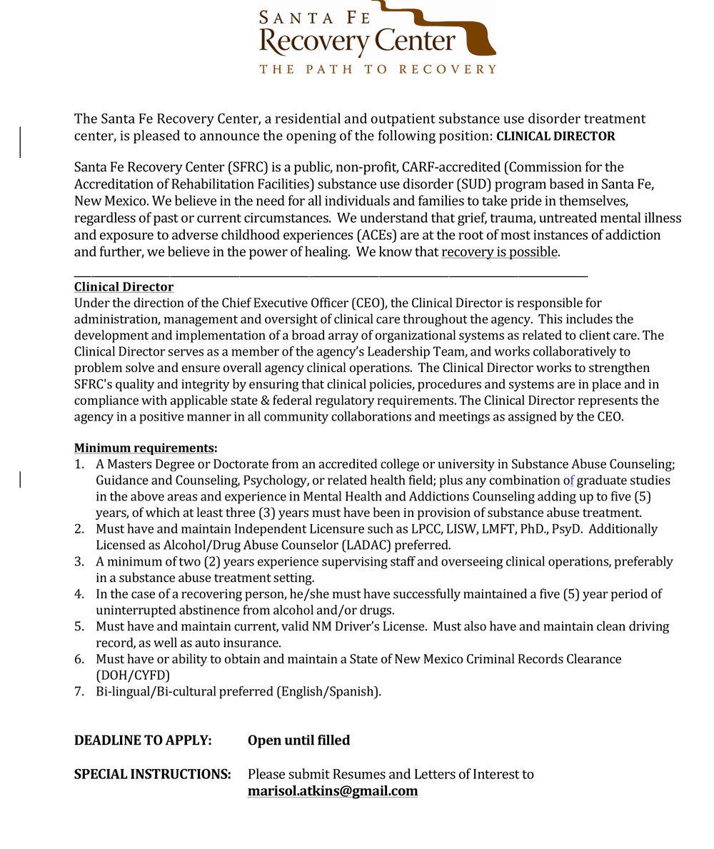 External posting - Clinical Director - SFRC.jpg