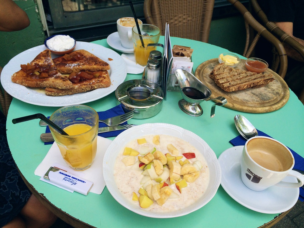 Tel Aviv wins for breakfast