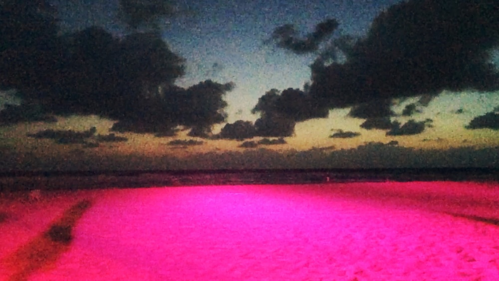 + Pink sandy beaches.
