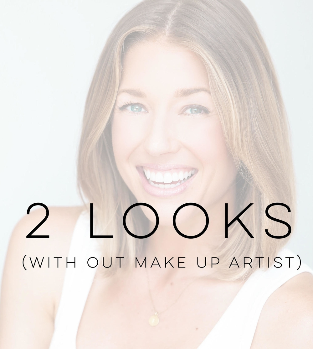 2 Looks with OUT make up artist $150