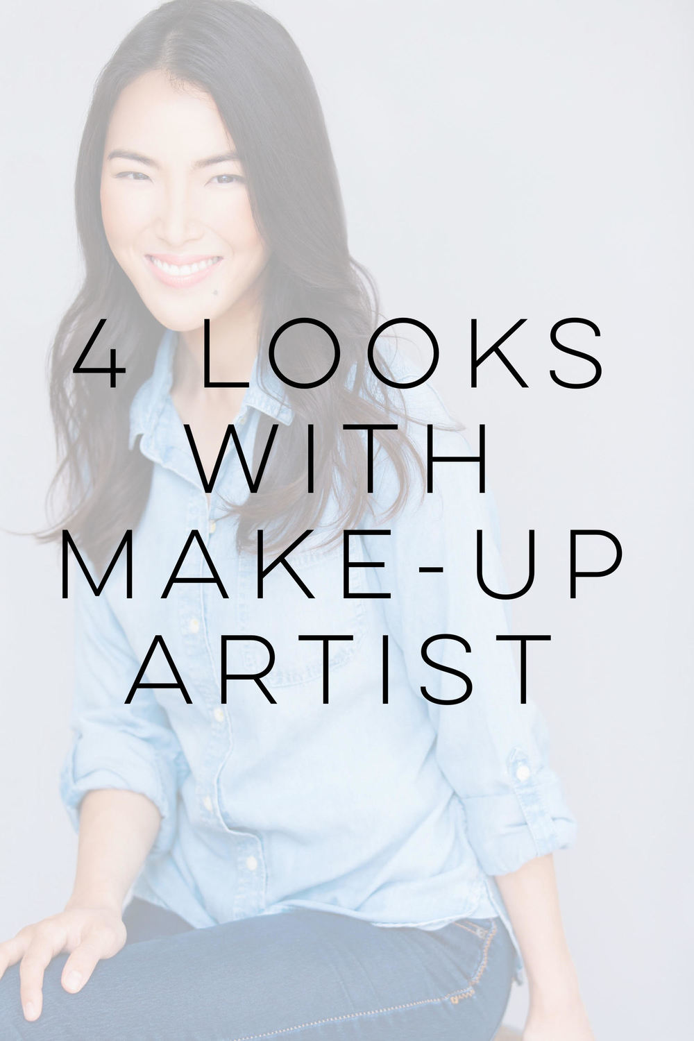 4 Looks WITH make up artist $250