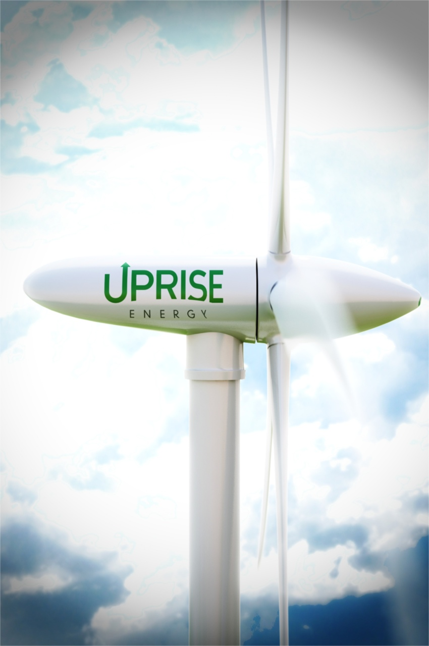 The ECS allows a turbine to dance with the wind by continuously adjusting rotor speed and blade pitch. The Uprise system converts the variable speed input of the wind into a constant speed output, enabling the use of an off-the-shelf synchronous generator.