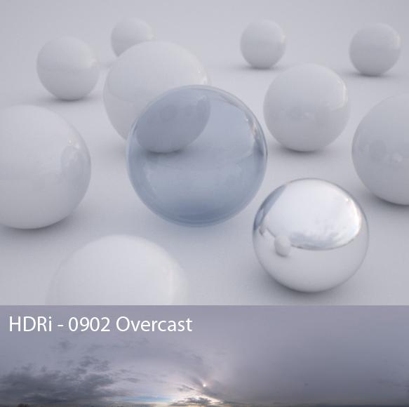 Overcast HDRI byPeter Guthrie