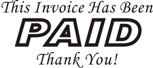 Invoicing And Getting Paid Bobby Parker - Invoice paid stamp