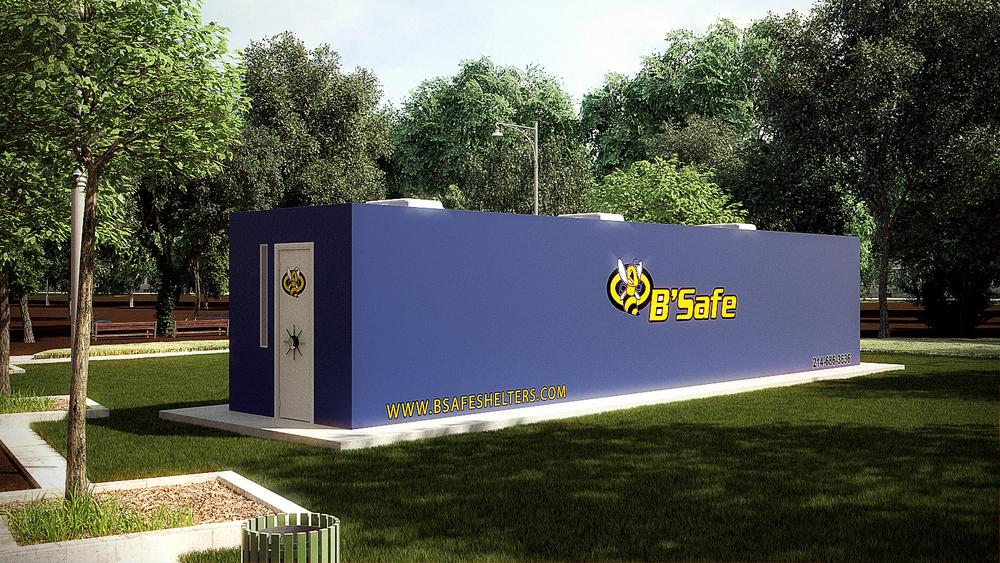 B'Safe Commercial Tornado Shelters