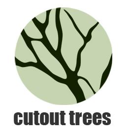 cutout trees