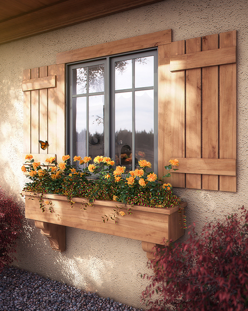 Image: 'Butterfly Window Box' (Bobby Parker)