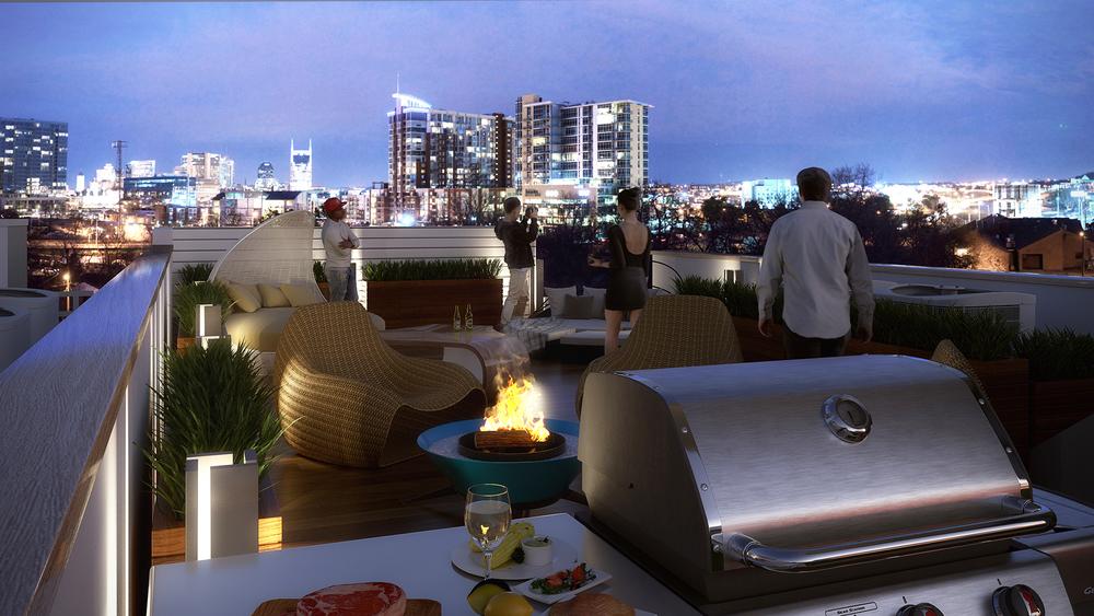 Modern Architecture Nashville Tn nashville, tennessee modern architecture 3d rendering — bobby parker